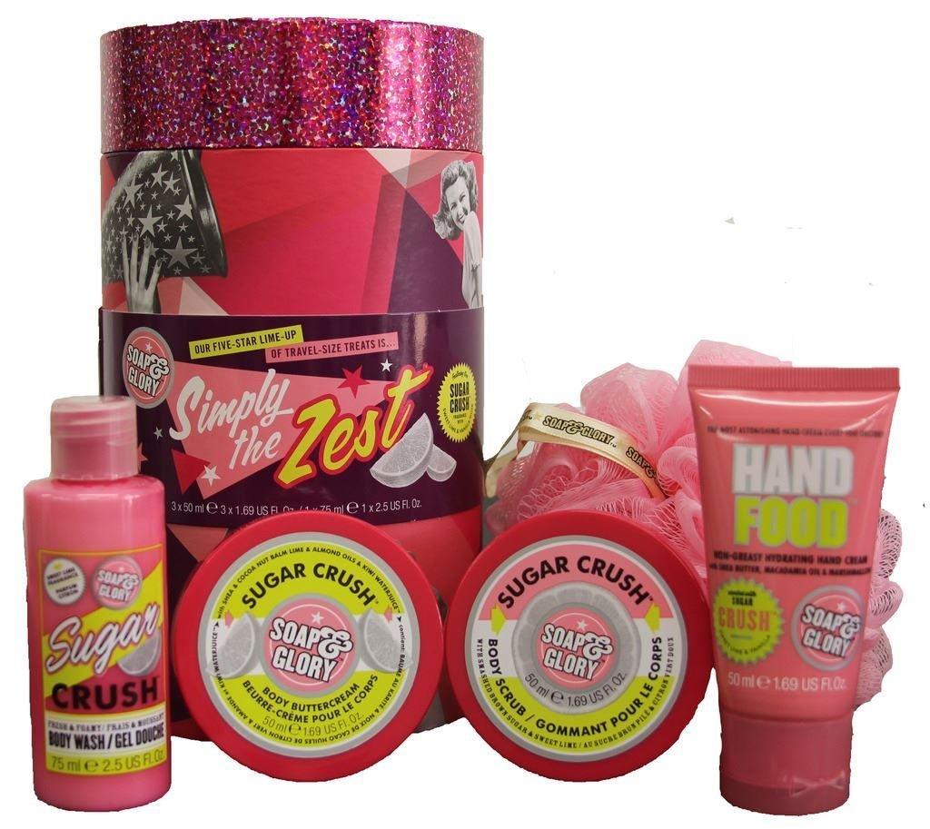 Soap And Glory Simply The Zest Gift Set By Xmas Gifting Ampamp Irresistibubble Belleza