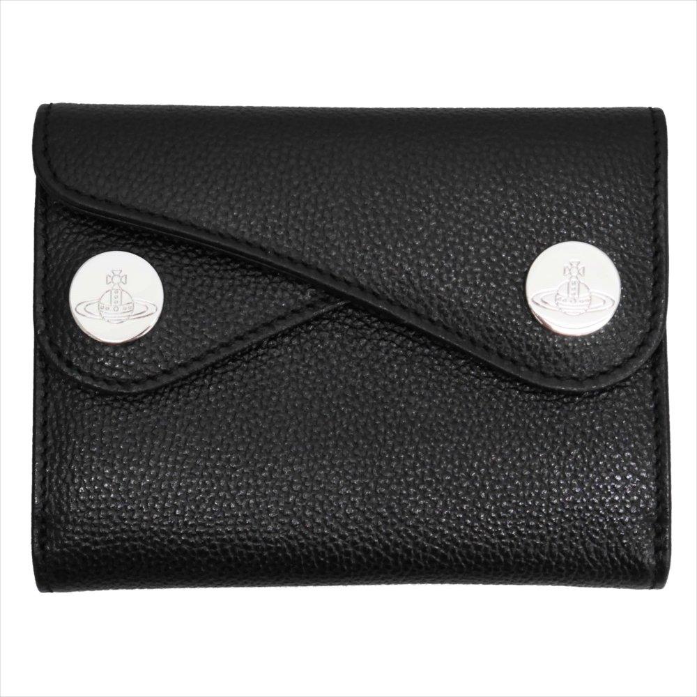 Vivienne Westwood ヴィヴィアンウェストウッド 財布 DOT 二つ折り財布 51150001 BLACK 18SS ブラック B07FT8BYHP