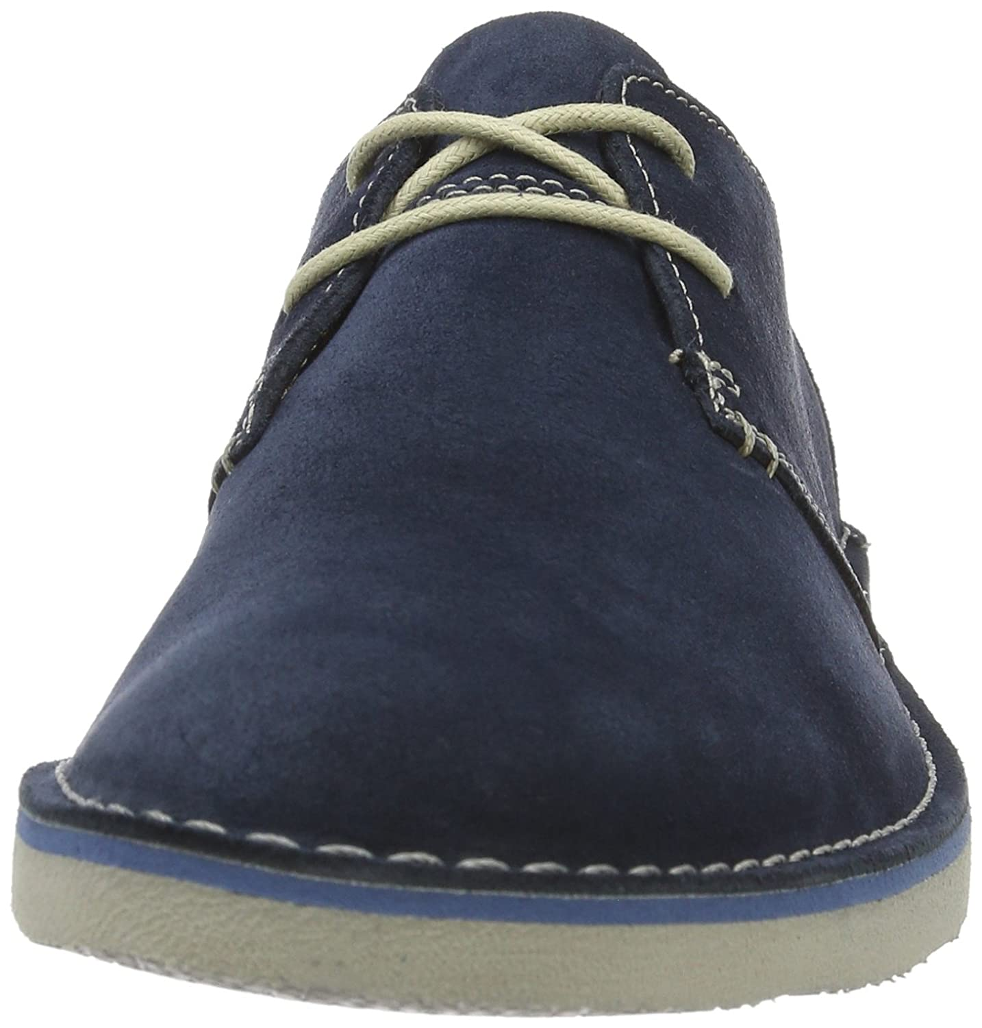 Clarks Men s Jareth Walk Lace-Up Derby Shoes Blue (Navy Suede) 8 UK  Buy  Online at Low Prices in India - Amazon.in 90eef37965f