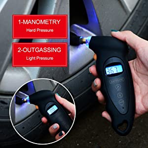 SafeLife Digital Tire Pressure Gauge is recommended for all car owners.