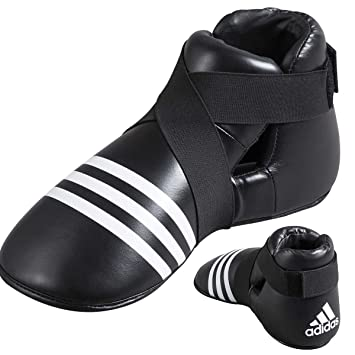 adidas - Protector de pie para full contact (talla L), color negro: Amazon.es: Deportes y aire libre