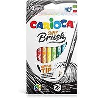 Carioca Super Brush Fırça Uçlu Keçeli Boya Kalemi 10'Lu,Nisan 2018