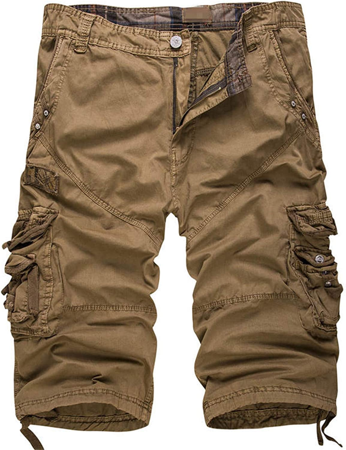Adam Woolf New Male Board Shorts Summer Mens Camouflage Army Cargo Shorts Workout Shorts