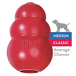 KONG - Classic Dog Toy - Durable Natural Rubber
