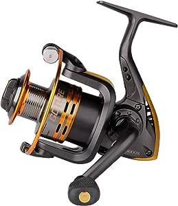 Goture Spinning Fishing Reel - Metal Spool 6+1BB Freshwater Fishing Reel 1000 2000 3000 4000 5000 Series