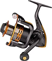Goture Spinning Fishing Reel - Metal Spool 6+1BB Freshwater Fishing Reel 1000 2000 3000 4000 5000 Series
