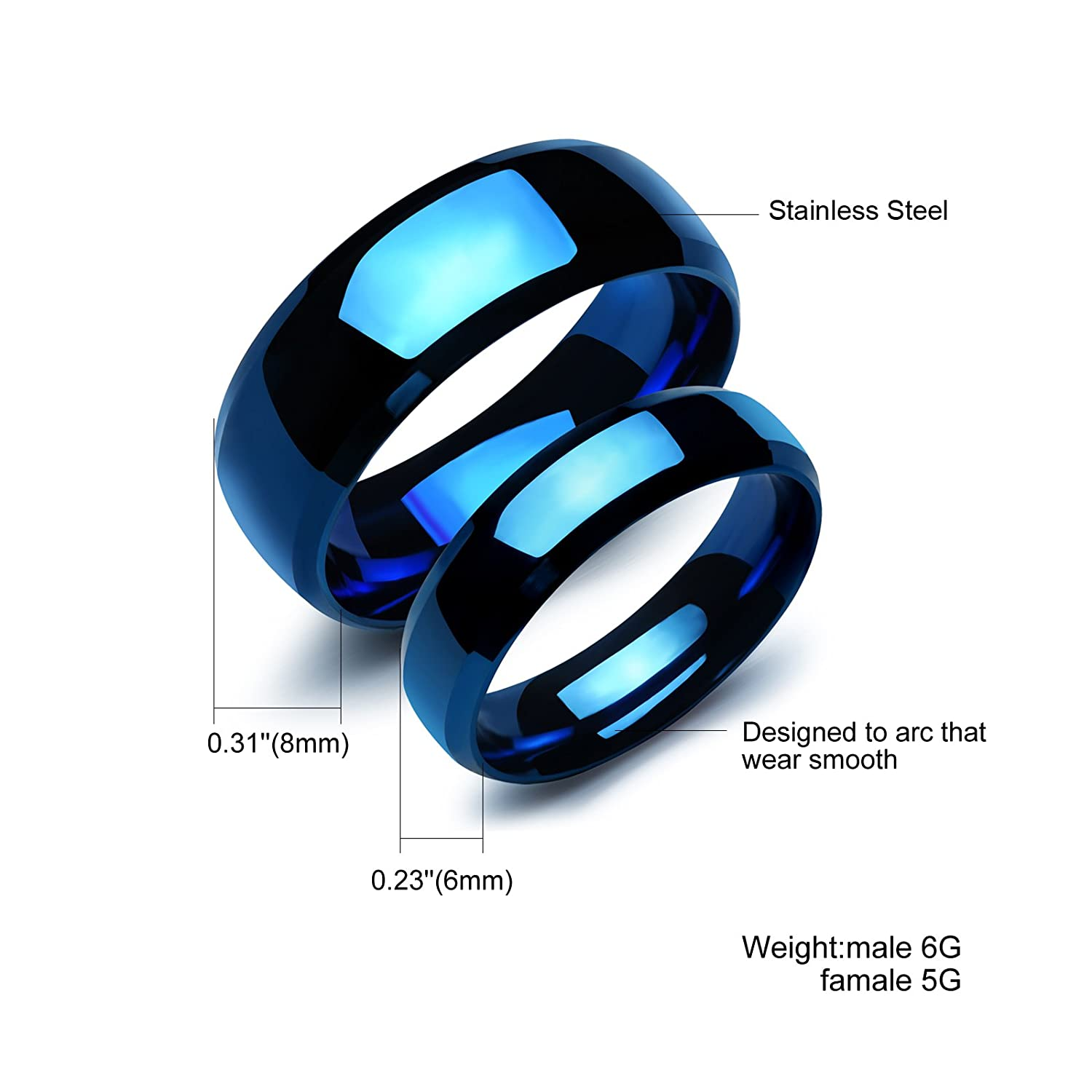 fiber eejart des blue steel dragon rings stainless wedding nibelungen for carbon the black products nerd distinguished ring band