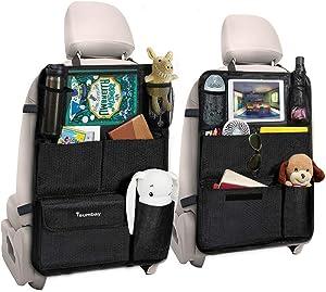 Tsumbay 2PCS Car Backseat Organizer , 10