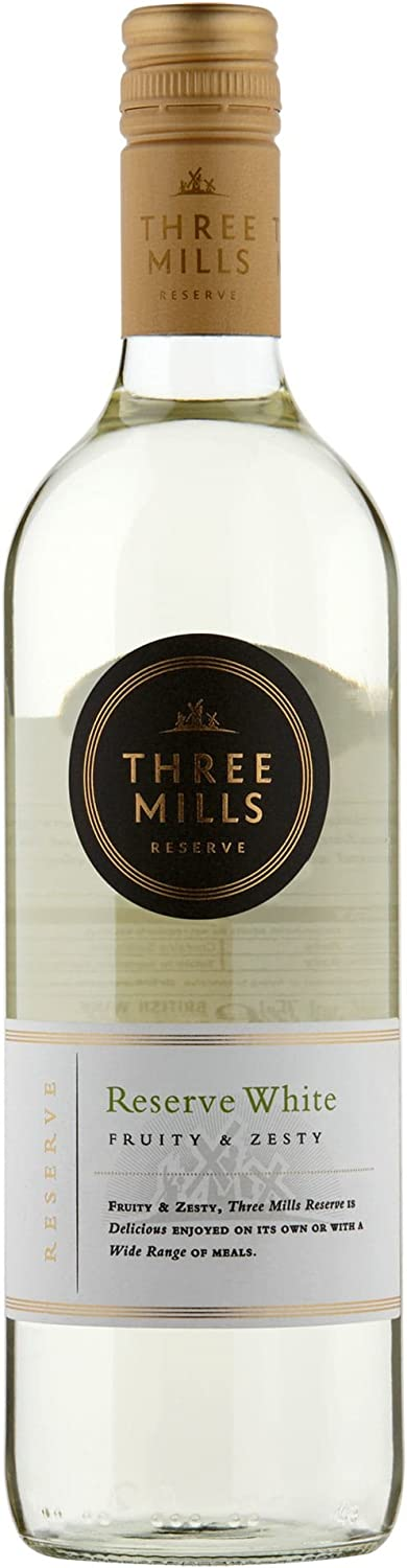 Broadland Wineries Three Mills British Reserve White Wine – 6x75cl