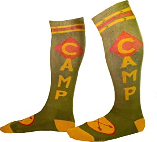 product image for Camp Knee High Tube Socks Unisex Novelty Wear