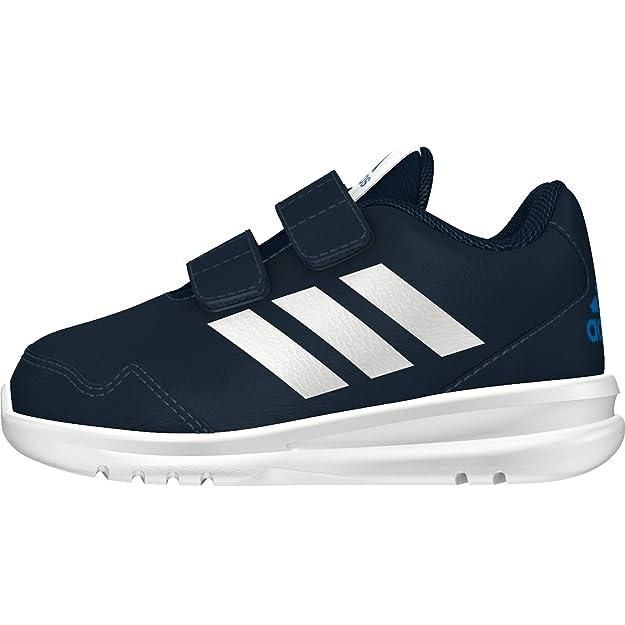 adidas Unisex-Kinder Altarun Cf Fitnessschuhe, Blau/Weiß Blanc/bleu, EU