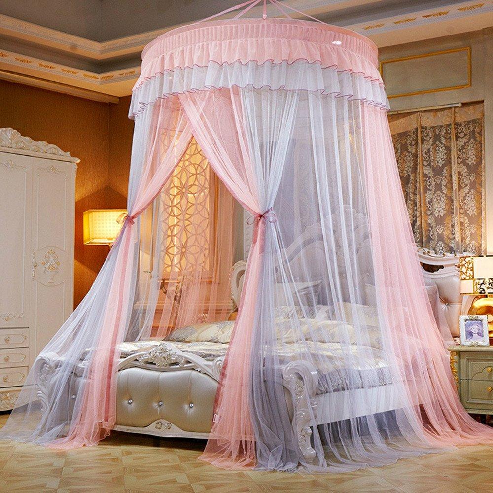 DASENLIN Double Farbe of Bed Vorhang Verschlüsseln Bett Für Moskitonetz