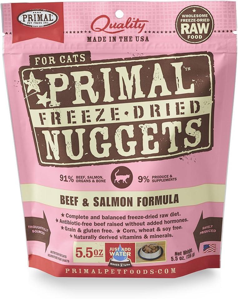 Primal Pet Foods Freeze-Dried Feline Beef Formula 5.5 Oz
