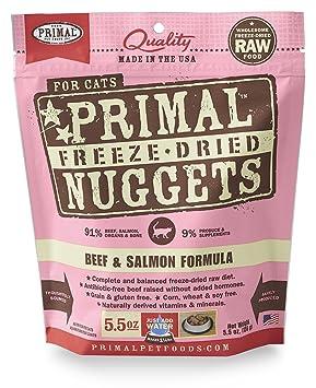 Fórmula Primal Pet Alimentos Secado Congelado Fine Carne de Bovino de 14 ml: Amazon.es: Productos para mascotas