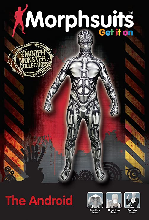 Disfraz de El Androide Monster Collection Morphsuit: Amazon.es ...