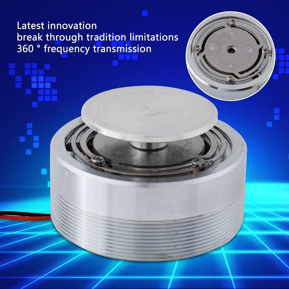 Resonance Speaker,1Pcs 50MM 2Inch All Frequency Resonance Speaker Vibration Strong Bass Louderspeaker (4Ω,25W) by Walfront (Image #5)