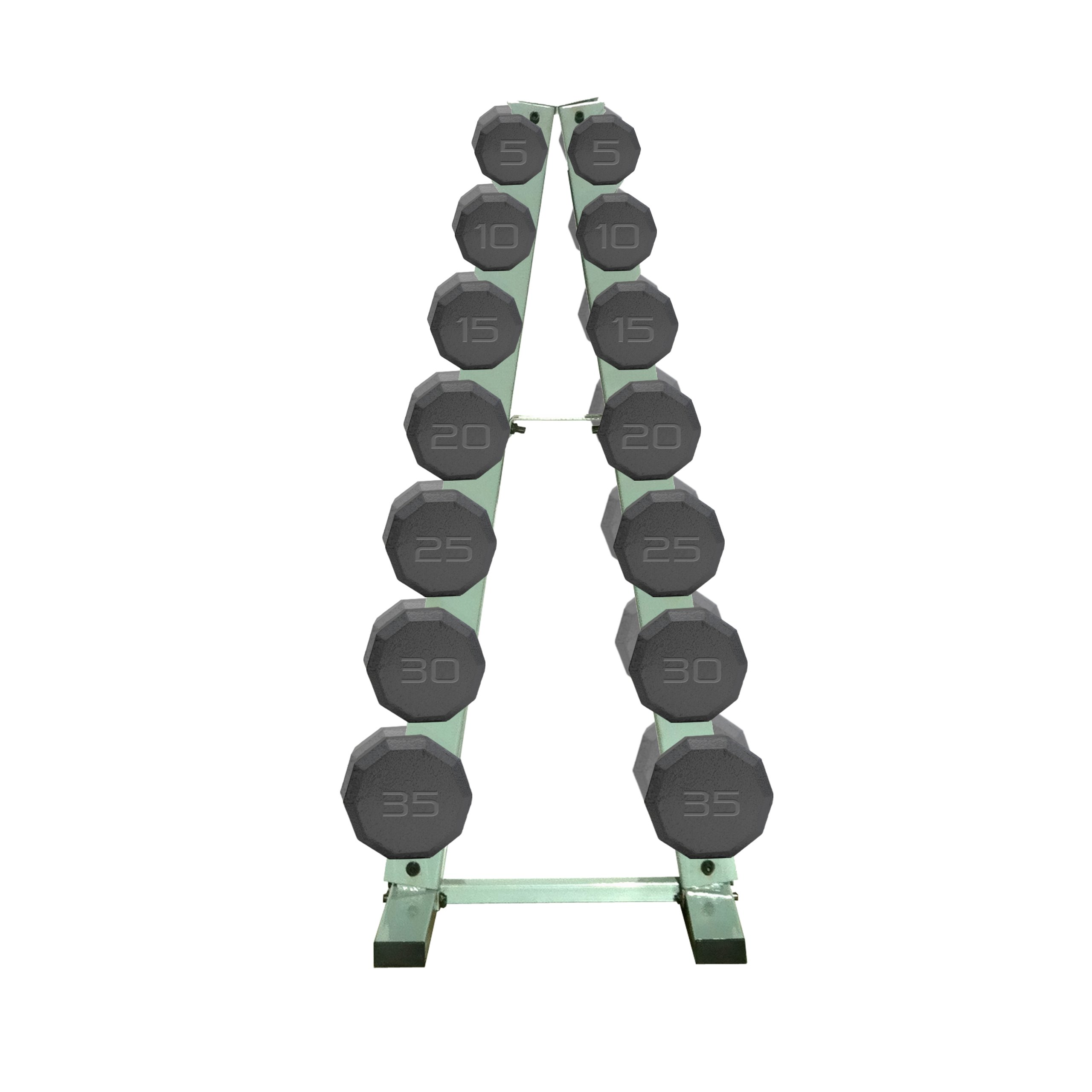 CAP Barbell Workout Dumbbell Weight Set with Frame Rack (Black, 280 Pounds) by CAP Barbell