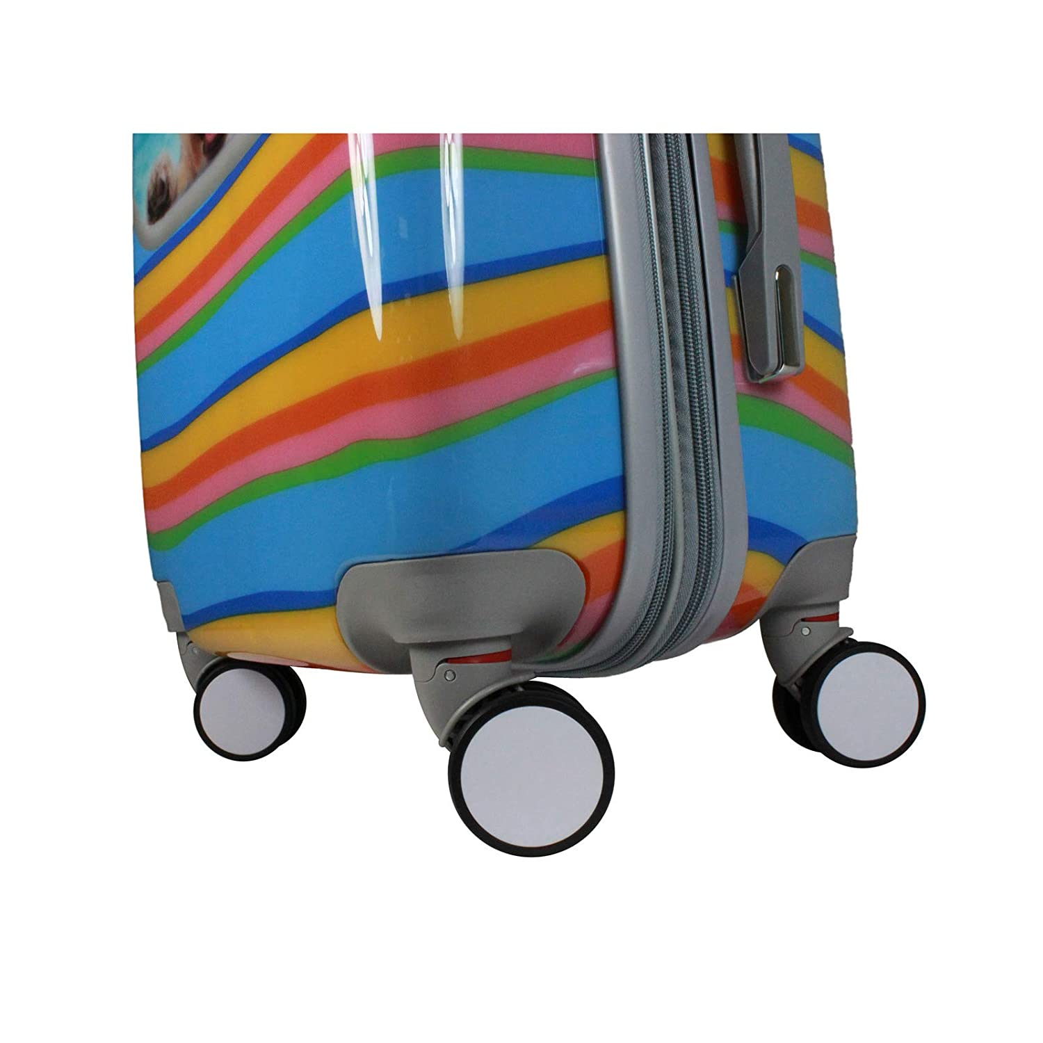 Cute Puppy Dog 2-Piece Hardside Carry-on Spinner Luggage Set