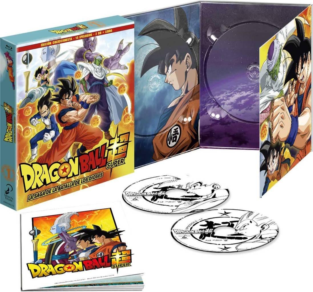 Dragon Ball Super. Box 1. La Saga De La Batalla De Los Dioses Episodios 1 A 14 Blu-Ray Edición Coleccionistas [Blu-ray]