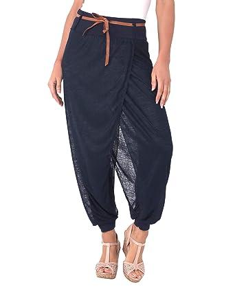 Pas Taille Sarouel Krisp Femme Elastique Cher Pantalon TKJc3lF1