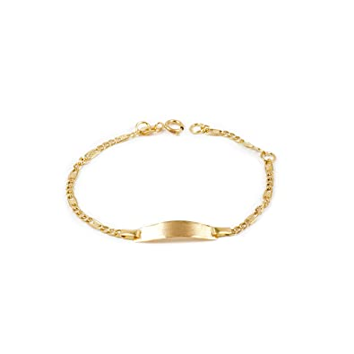 gamme exceptionnelle de styles le magasin vente discount Bracelet Enfant Or Jaune 18 Carats: Amazon.fr: Bijoux