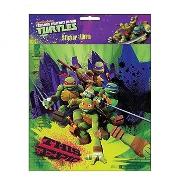 GUIZMAX álbum Las Etiquetas engomadas para el Tortugas Ninja ...
