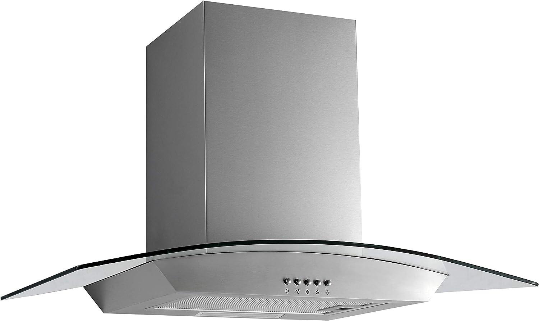 PKM 8888W - Campana extractora de humos (LED, 60 cm): Amazon.es: Grandes electrodomésticos