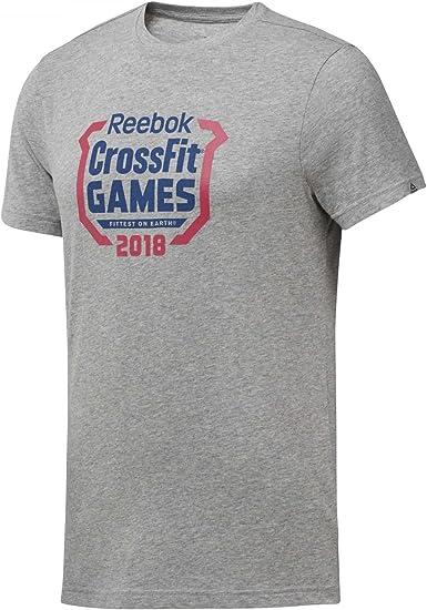 Reebok Herren Cf Games Crest Tee Hemd