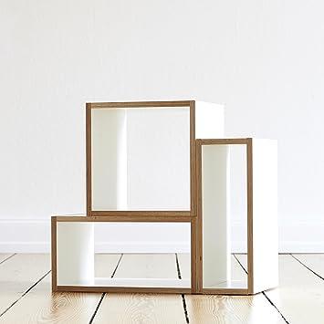 étagère Design Modulable étagère Et Buffet Tetris M Blanc En