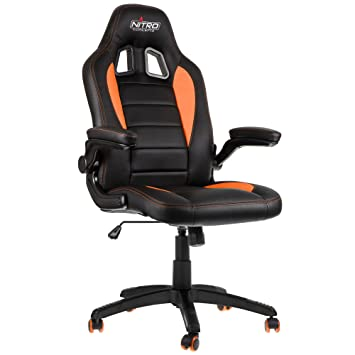 Nitro Concepts C80 Motion Gaming Negro/Naranja - Silla Gaming: Amazon.es: Hogar