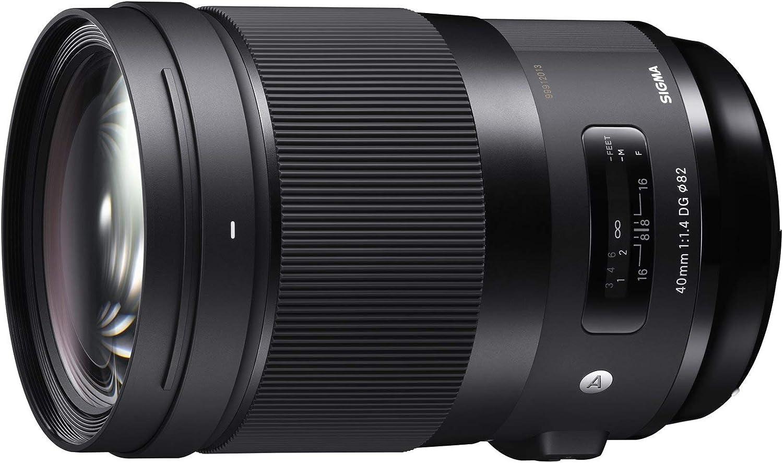 Sigma 40-40mm f/1.4-1.4 Fixed Prime 40mm F1.4 DG HSM, Black (332965)