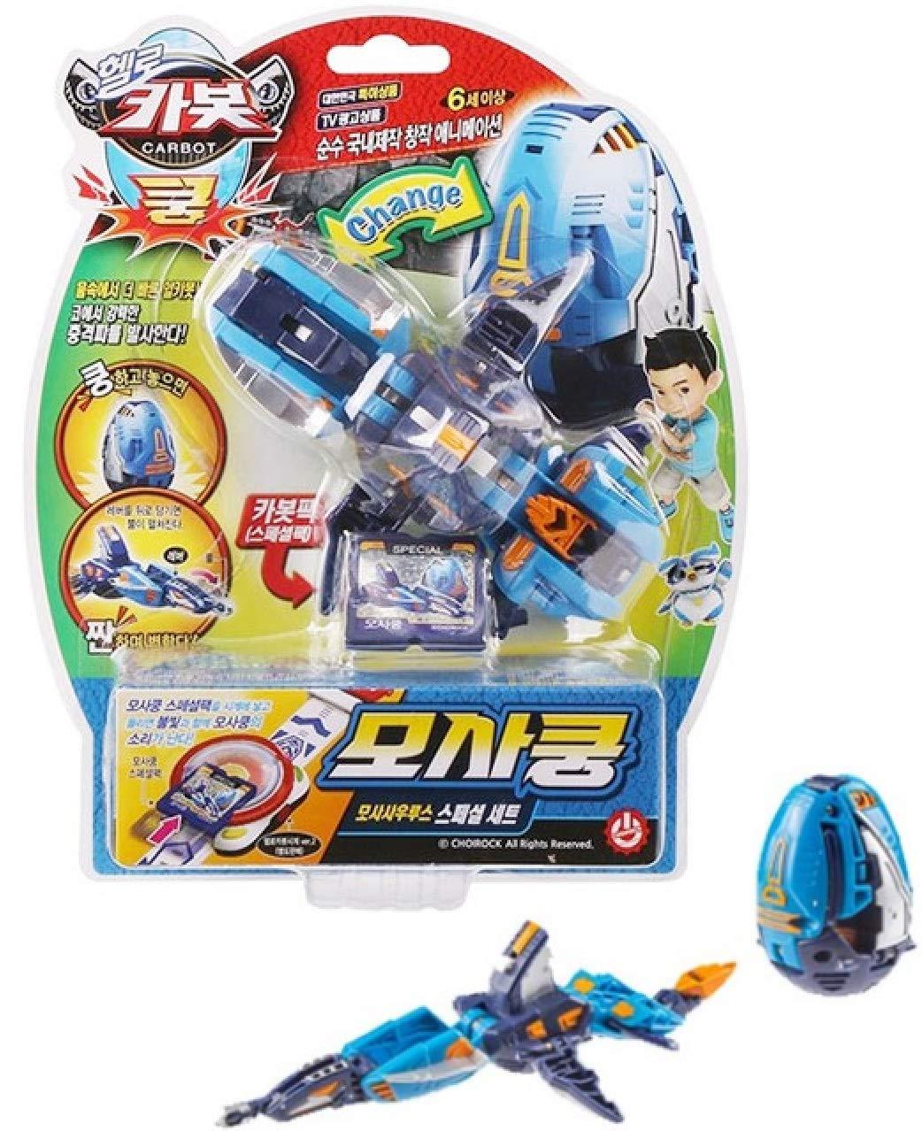 Hello Carbot Kung SMILOKOONG Smilodon Dinosaur Transformer Egg Robot Toy Koong