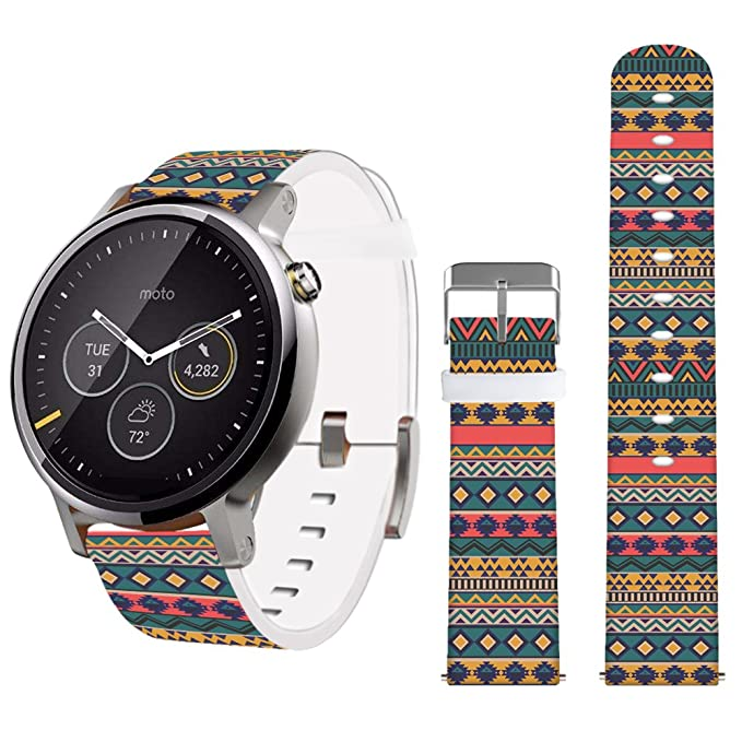 22mm Band,Jolook Leather Band for Samsung Gear S3 Classic/S3 Frontier/Gear 2 Neo and Other Bands Watch That Uses 22mm Spring Bars-Vintage Design