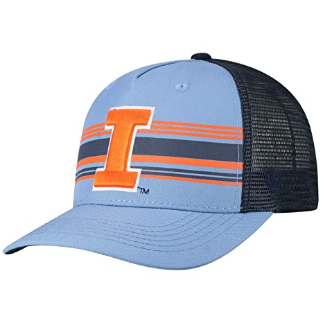 c1e70d995d5 Image Unavailable. Image not available for. Color  Top of the World  Illinois Fighting Illini Tow Inferno Mesh Structured Snapback Hat Cap