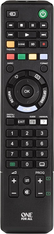 One For All Sony Tv Fernbedienung Funktioniert Mit Elektronik