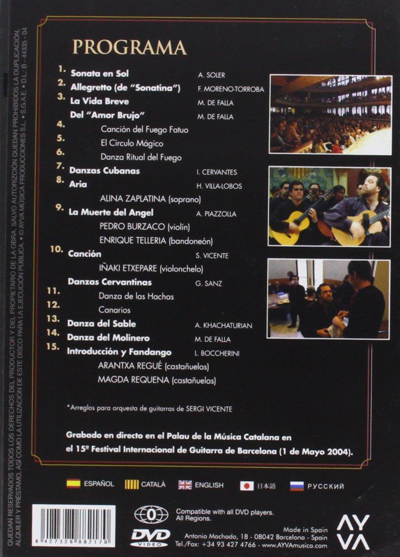 Concert Al Palau [DVD]: Amazon.es: Orquestra De Guitarres De ...