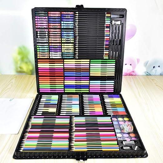 yh-yrhhyp 288 Herramientas de Pintura para niños Caja de ...