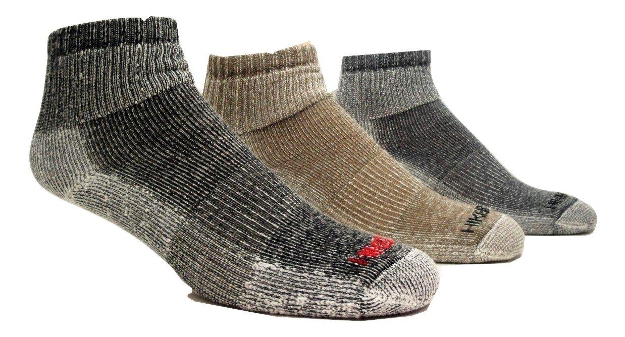 Super-Wool Hiker GX Low-cut 1/4 Hiking Socks (3 Pairs) SoxShop
