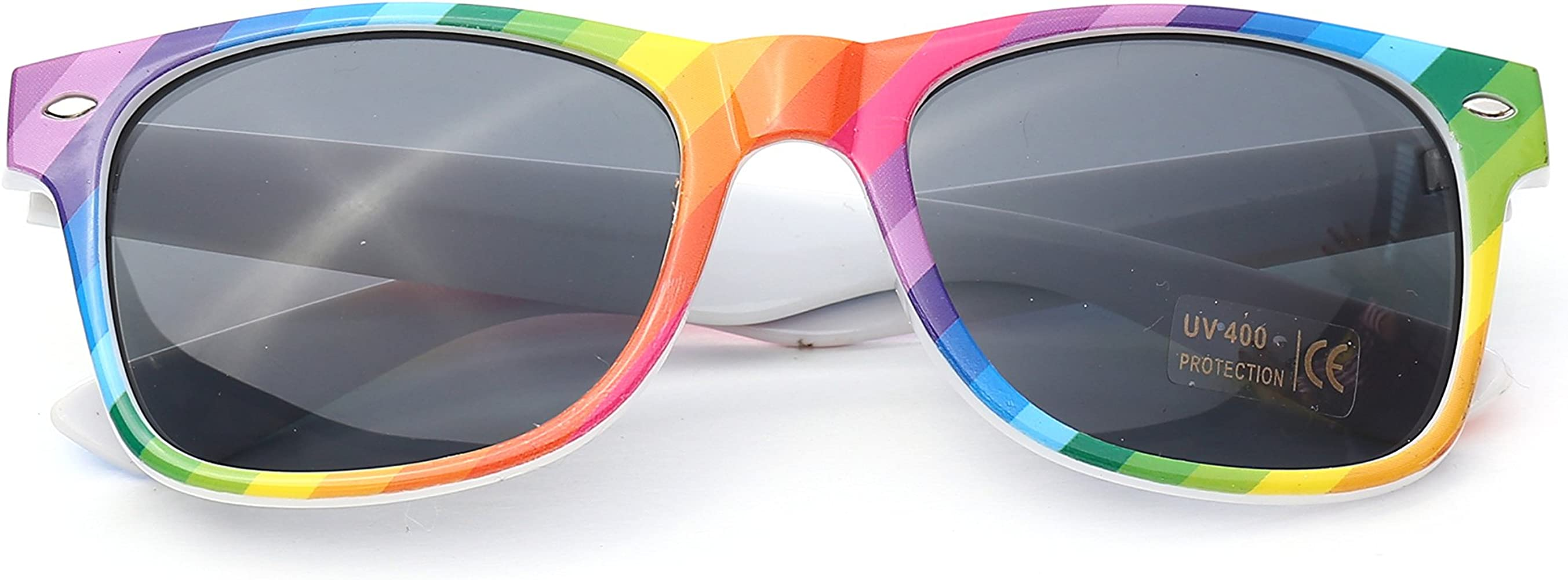 Colourful Gay Pride Arco iris Style Gafas de sol (WSPSG1): Amazon.es: Ropa y accesorios