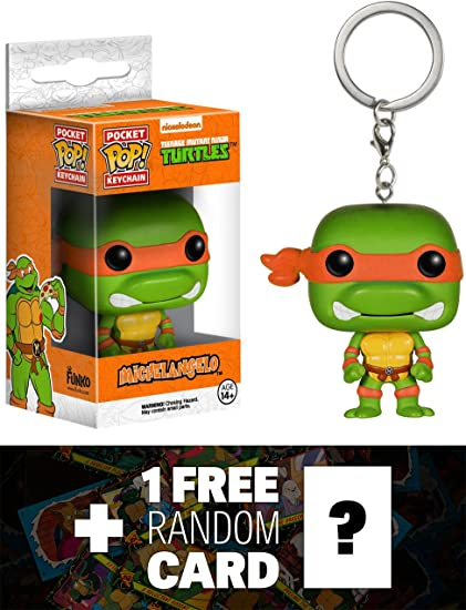 Amazon.com: Michelangelo: bolsillo Pop. X TMNT mini-figure ...