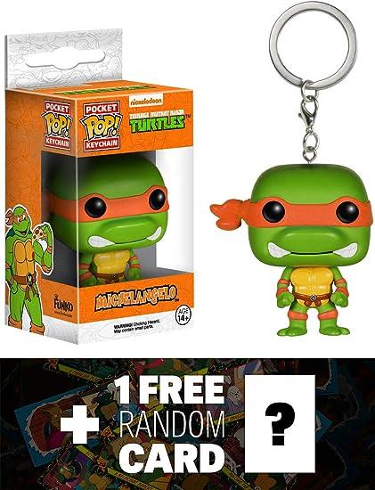 Amazon.com: Michelangelo: bolsillo Pop. X TMNT mini-figure ...