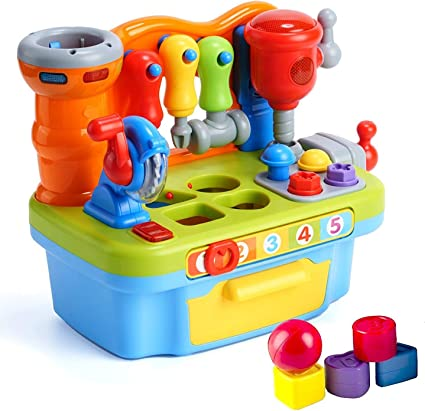 Kids Activity Center Educational Baby Toy Electronic Musical Shape Sorter Gift