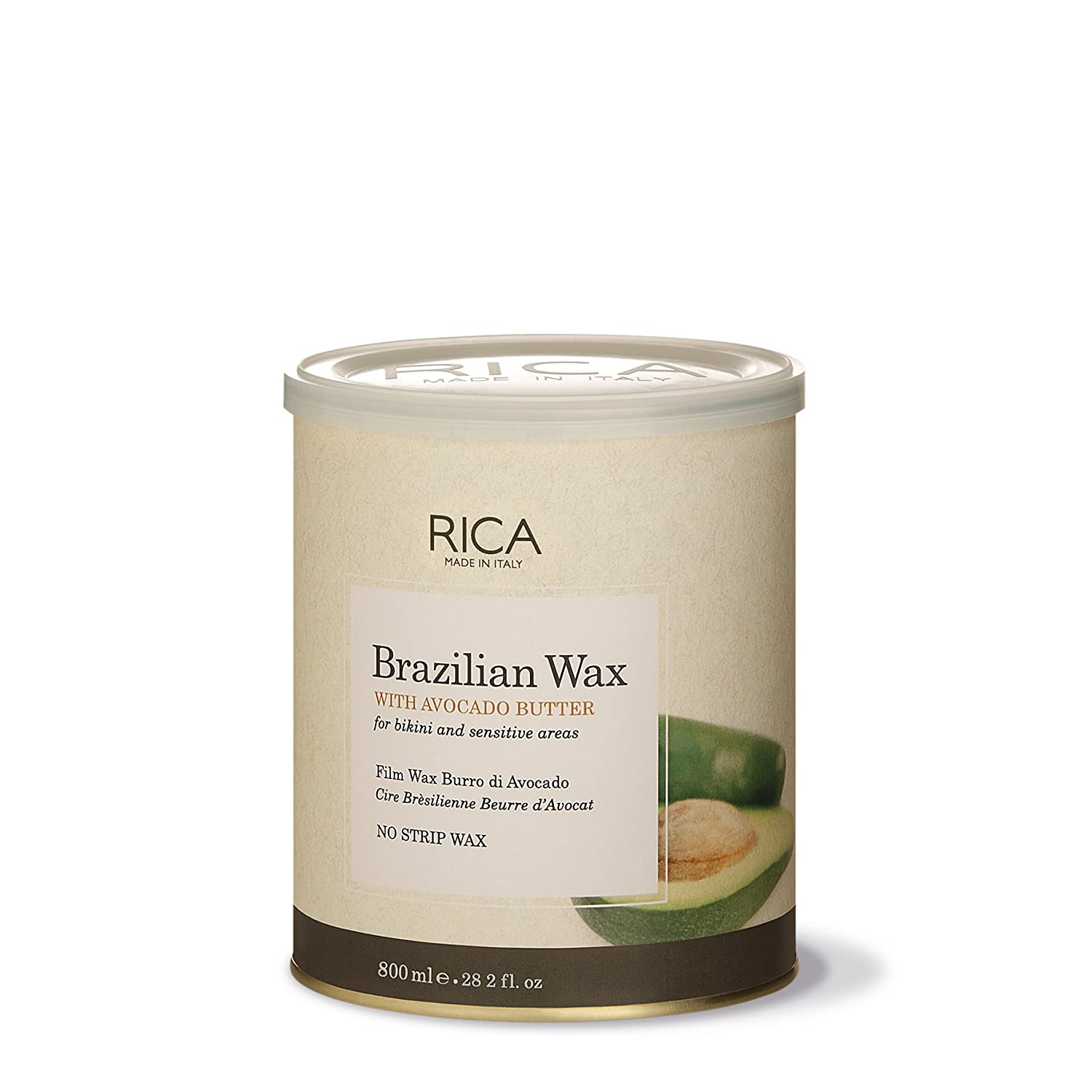 Rica Brazilian Wax with Avocado Butter for Bikini and Face, 28.2oz:  Amazon.in: Health & Personal Care