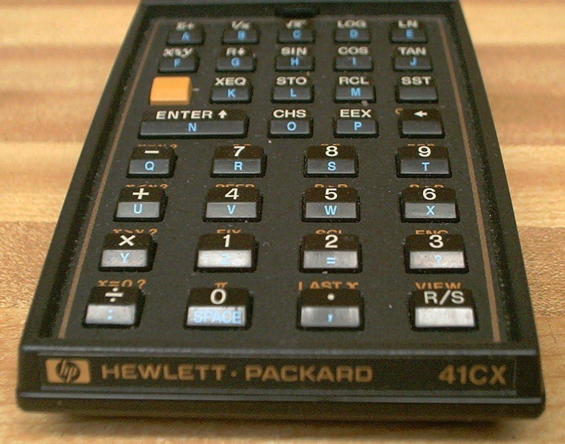 HP 41CX