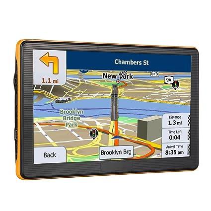 GPS para Coche con Pantalla táctil de 7 Pulgadas, 8 GB, Incluye los últimos