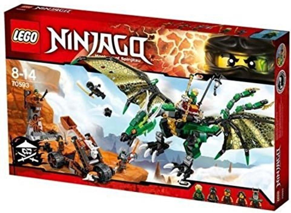 Lego Ninjago-Catapulta desde 70593 El Dragón Verde NRG-sin Caja//minifiguras