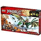 LEGO - 70593 - NINJAGO - Jeu de Construction - Le dragon émeraude de Lloyd