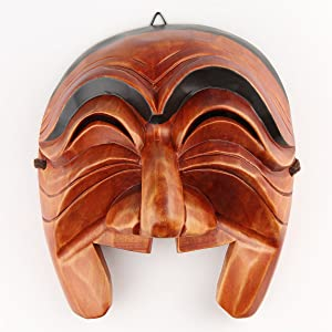 Real Human Face Size Korea Traditional Hahoe Mask Imae