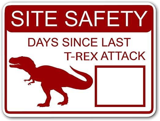 Amazon.com: Ninja Pickle Studios Site Safety - Days Since ...
