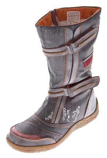 TMA Damen Boots, Apfelgrün - 36